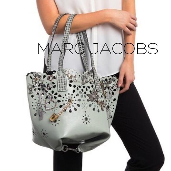3f50adc0e022 NWT Marc Jacobs laser cut Embellished bag